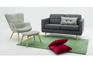 Szare fotele uszaki. Nasze 4 propozycje do nowoczesnego salonu.