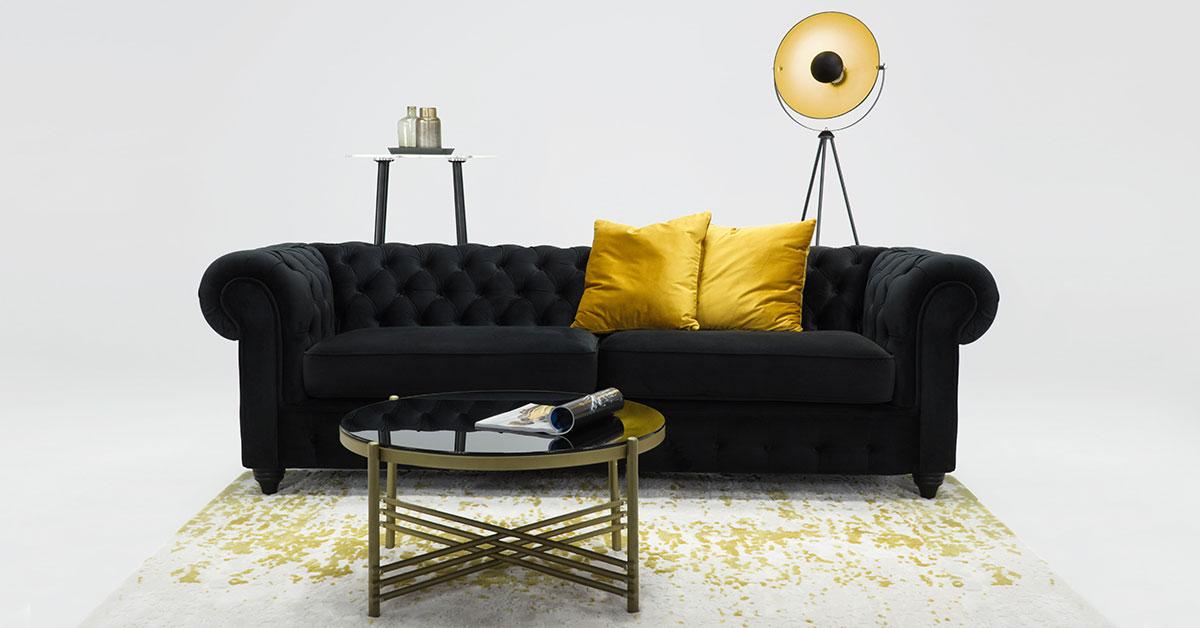 Pikowane sofy - jaki model wybrać do salonu?