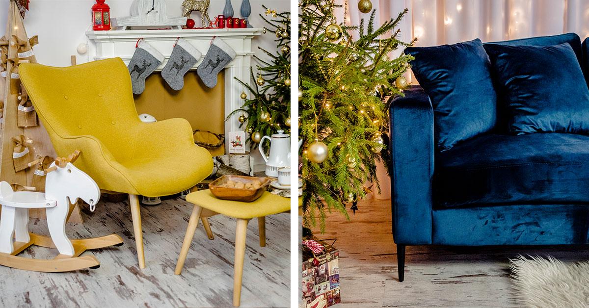 Świąteczny salon – jak przygotować pokój dzienny do Świąt Bożego Narodzenia