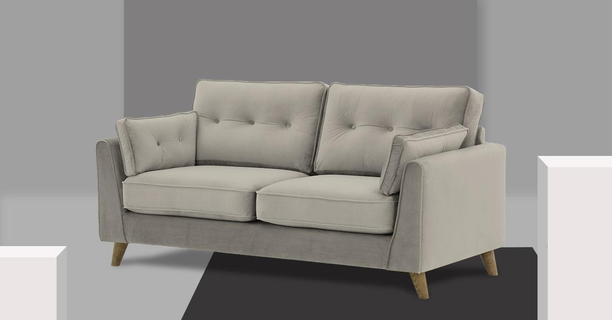 Szara sofa – jak dobrać kanapę w kolorze szarym do swojego wnętrza?