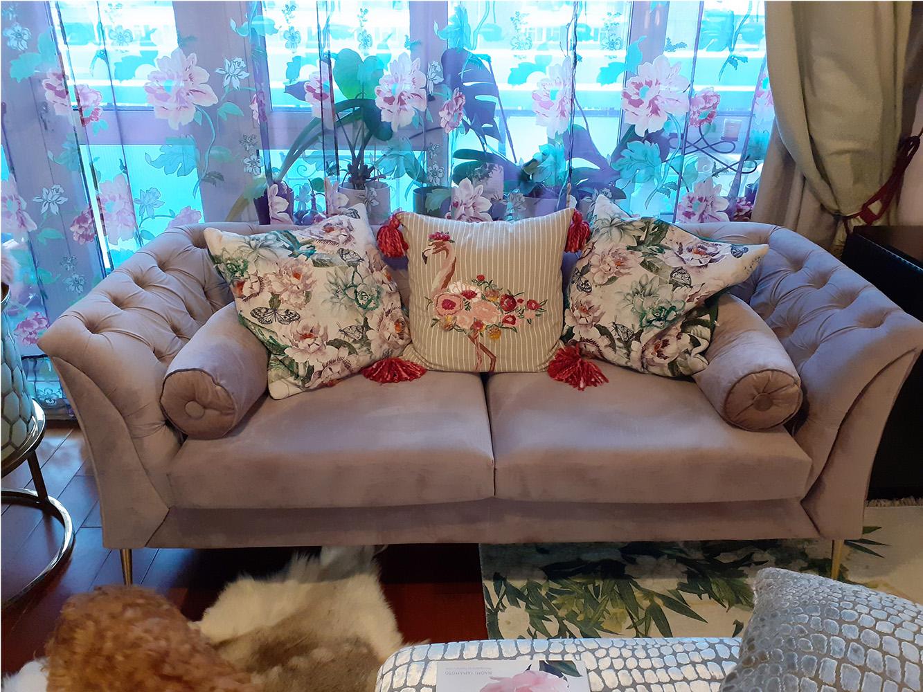 Sofa Chesterfield Modern od Natalii