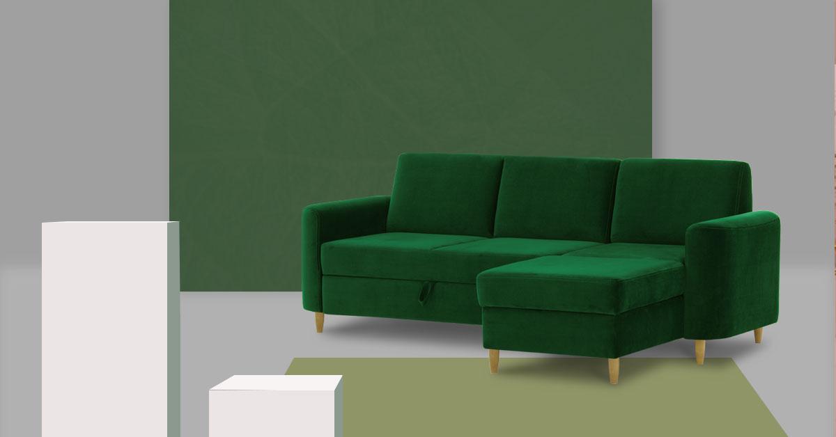 Top 10 sof w odcieniach zieleni