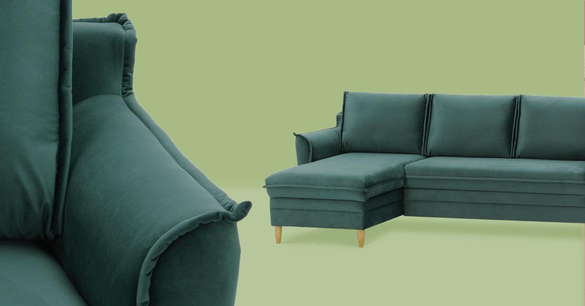 Małe wnętrza – jaki narożnik lub sofę wybrać, aby było funkcjonalnie i przestrzennie