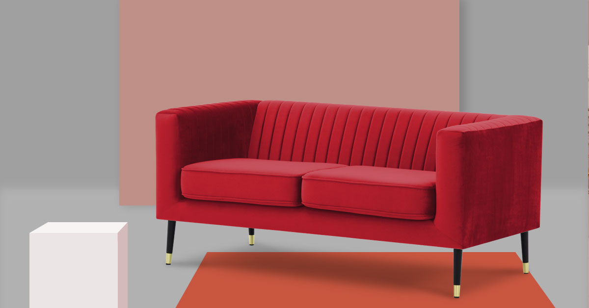 Top 5 czerwonych sof
